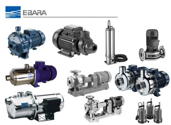 Những đặc tính nổi trội của máy bơm công nghiệp Ebara 1