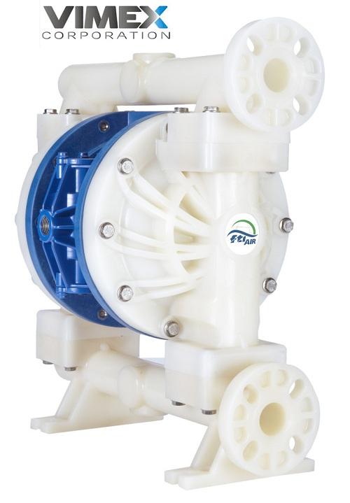 Bơm màng khí nén hiệu FTI FT10-P-PP-RRPR-F1